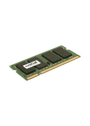 Crucial 2048MB PC2-5300 667MHz DDR2 200-pin SO-DIMM CL5 Unbuffered Non ECC Memory Module