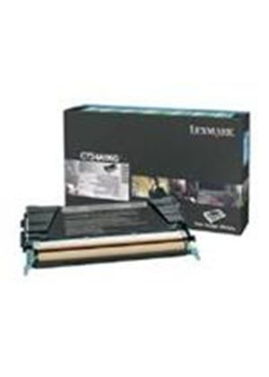 Lexmark Black Return Program Toner Cartridge (Yield 8,000 Pages) for C734/C736/X734/X736/X738 Colour Laser Printers