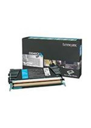Lexmark C534 Cyan Return Program Toner Cartridge (Yield 7,000 pages)