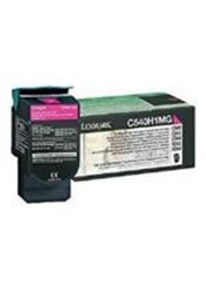 Lexmark Magenta High Yield Return Program Toner Cartridge (Yield 2,000 Pages) for C54x, X54x Colour Laser Printers