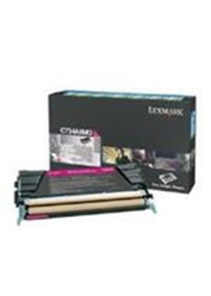 Lexmark Magenta Return Program Toner Cartridge (Yield 6,000 Pages) for C734/C736/X734/X736/X738 Colour Laser Printers