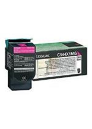 Lexmark Magenta Extra High Yield Return Program Toner Cartridge (Yield 4,000 Pages) for C544, X544 Colour Laser Printers