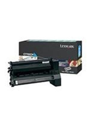 Lexmark C77X Black High Yield Return Program Print Cartridge (Yields 10.000 Pages)