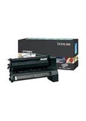 Lexmark C772 Black Extra High Yield Return Program Print Cartridge (Yield 15,000 Pages)