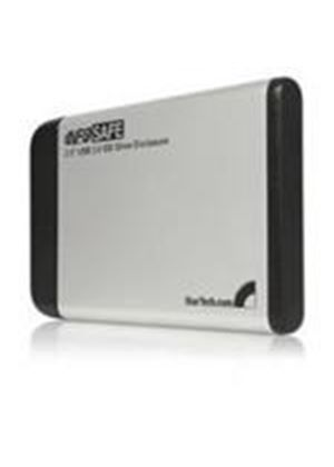 StarTech 2.5in Silver USB 2.0 to IDE External Hard Drive Enclosure Storage enclosure IDE Hi-Speed USB silver