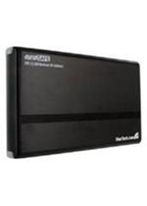StarTech 3.5 inch USB 2.0 to SATA External Hard Drive Enclosure (Black)