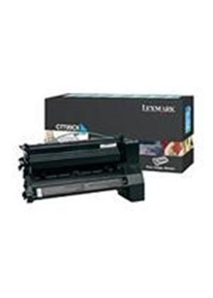 Lexmark C772 Cyan Extra High Yield Return Program Print Cartridge (Yield 15,000 Pages)