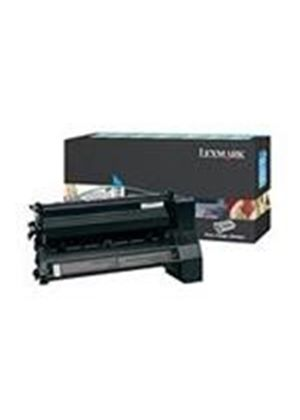 Lexmark C780, C782 Cyan High Yield Return Program Print Cartridge (Yield 10,000 Pages)