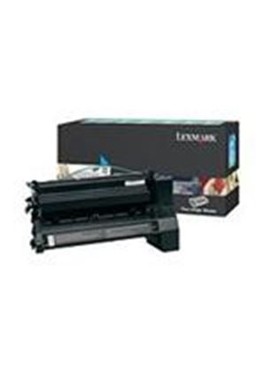 Lexmark C782/X782 Cyan Extra High Yield Return Program Print Cartridge (Yield 15,000 Pages)