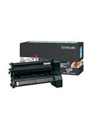 Lexmark C780, C782 Magenta High Yield Return Program Print Cartridge (Yield 6,000 page)