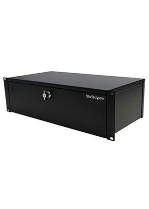 StarTech 3U 9 inch Deep Rack Mount Locking Storage Drawer