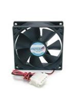 StarTech Dual Ball Bearing PC Case Cooling Fan with Internal Power Connector - 9.2 x 2.5cm