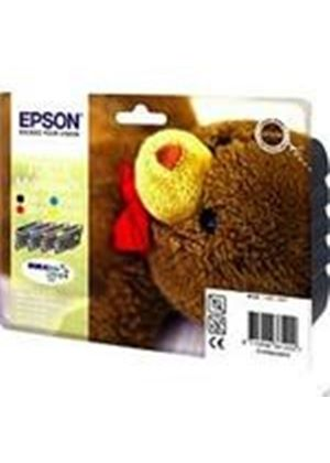 Epson T0615 Multi 4 Pack Ink Cartridges (T061140, T061240, T061340, T061440) Blister Pack with RF Security Tag