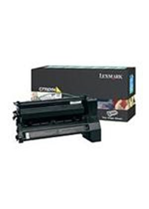 Lexmark C77X Yellow High Yield Return Program Print Cartridge (Yields 10,000 Pages)