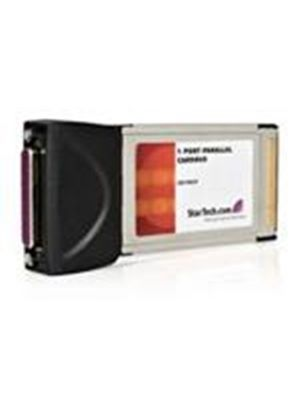StarTech 1 Port CardBus PCMCIA Parallel Laptop Adapter Card Parallel adapter CardBus parallel