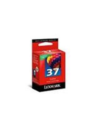 Lexmark No 37 Colour Return Program Print Cartridge