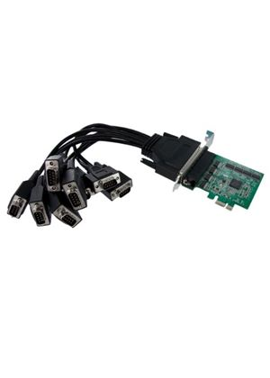 StarTech 8 Port Native PCI Express RS232 Serial Adaptor Card with 16950 UART