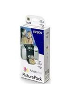 Epson PictureMate and PictureMate 500 PicturePack (Photo Cartridge and Picture Paper)