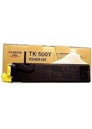 Kyocera TK-500Y Yellow Toner Kit (Yield 8,000 Pages) for FS-C5016
