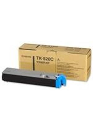 Kyocera Mita TK-520C Cyan Toner Cartridge (Yield 4000 Pages) for FS-C5025N/5015N Printers
