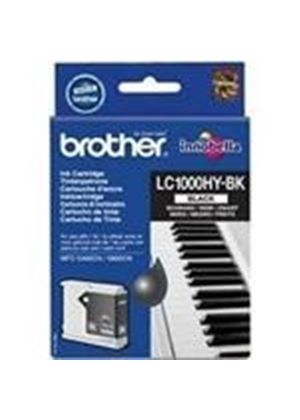 Brother LC1000HYBK High Yield Black Cartridge (900 Pages)