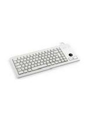 Cherry Compact Keyboard with Integrated Trackball - Light Grey (2 x PS/2)