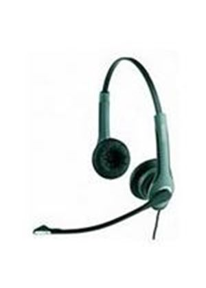 GN Netcom 2000 Quick Disconnect Duo Noise Cancelling Flexboom Headset