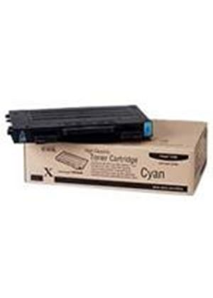 Cyan High-Capacity Toner Cartridge (Yield 5000 Pages) for Phaser 6100