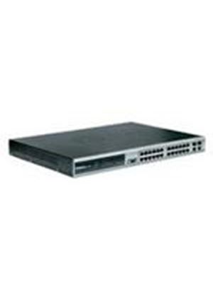 D-Link DES-3828 Managed Layer 3 24-Port 10/100Mbps Switch with 2 x 1000Base-T ports and 2 x Combo Ports