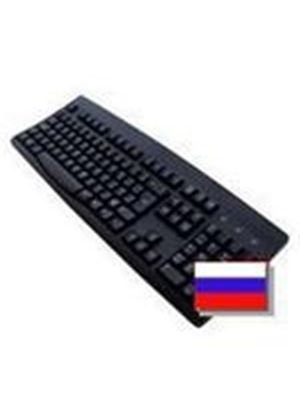 Accuratus 260 Standard USB/PS/2 Keyboard Black (Russian)