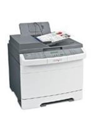 Lexmark X543dn Colour (A4) Multifunction Laser Printer Duplexer + Networked (Print/Copy/Scan/Fax) 1200x1200dpi 20ppm (Mono) 20ppm (colour) 250 Sheets ADF