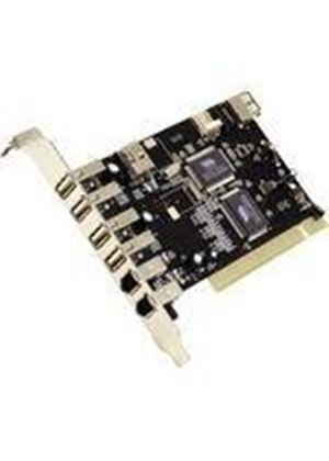 Dynamode 5 Port (4+1) USB and 3 Port FireWire PCI Card