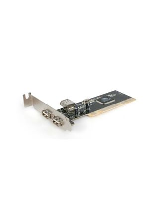 StarTech Low Profile 2 Port PCI USB 2.0 Card (2+1 Internal Ports)