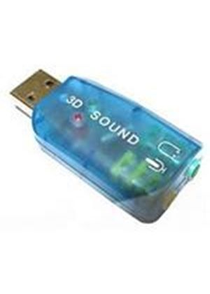 Dynamode USB Sound Card 2.0 Adaptor