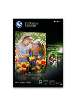 HP Everyday Photo Paper Semi-Glossy 200 g/m² (25 Sheets)