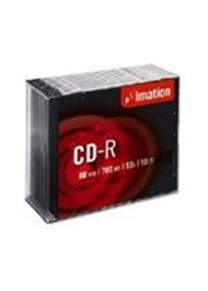 Imation CD-R 700MB 80min 52X Speed - Slimline Jewel Case (10 Pack)