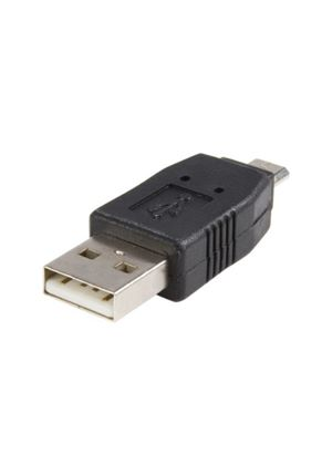 StarTech USB A to USB B Cable Adapter USB adapter 4 pin USB Type A (M) Micro-USB Type B (M)