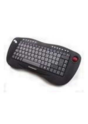 Accuratus Toughball USB Wireless Keyboard with Optical Trackball (Black/Grey)