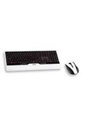 Cherry eVolution ORCA Wireless Laser Design Desktop and Laser Wireless Mouse (Black/White)