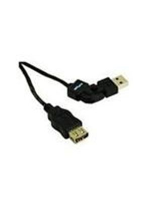 Cables To Go FlexUSB A Male to A Female Extension Cable