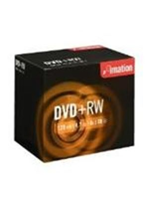 Imation DVD+RW 4.7GB 4X - MTV Jewel Case (10 Pack)
