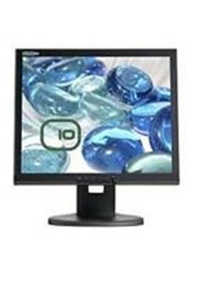 Edge10 T171 17 inch Multimedia Toughened Glass TFT LCD Monitor 500:1 300cd/m2 1280 x 1024 8ms (Piano Black)