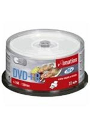 Imation DVD+R 4.7GB 16X White Inkjet Printable Spindle Discs (30 Pack)