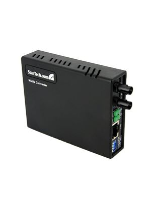 StarTech 10/100 Ethernet to Multi Mode Fiber Media Converter ST (2km)