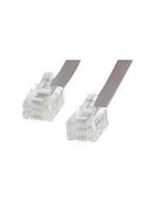 StarTech RJ11 4 Wire Phone Cable (7.6m)