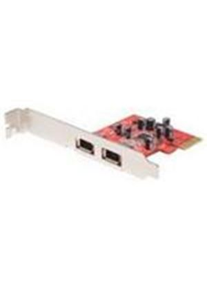 StarTech 2 Port PCI Express 1394a FireWire Adapter Card Video input adapter PCI Express x1