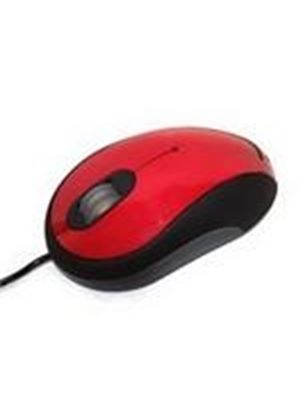 Accuratus Image Combo Optical Mouse (Red/Black)