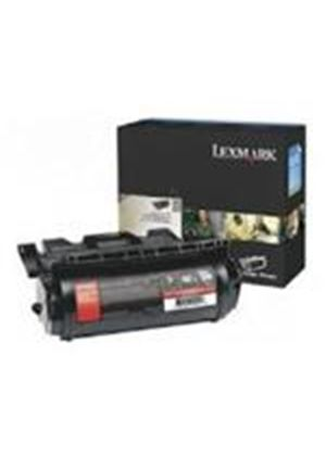 Lexmark Black Toner Cartridge (Yield 21,000 Pages) for T64x
