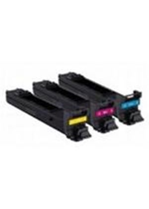Konica Minolta High Capacity Cyan/Magenta/Yellow Toner Value Pack (8,000 Prints at 5% Coverage)