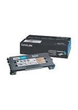 Lexmark C500 Cyan High Yield Toner Cartridge (Yield 3,000 pages)